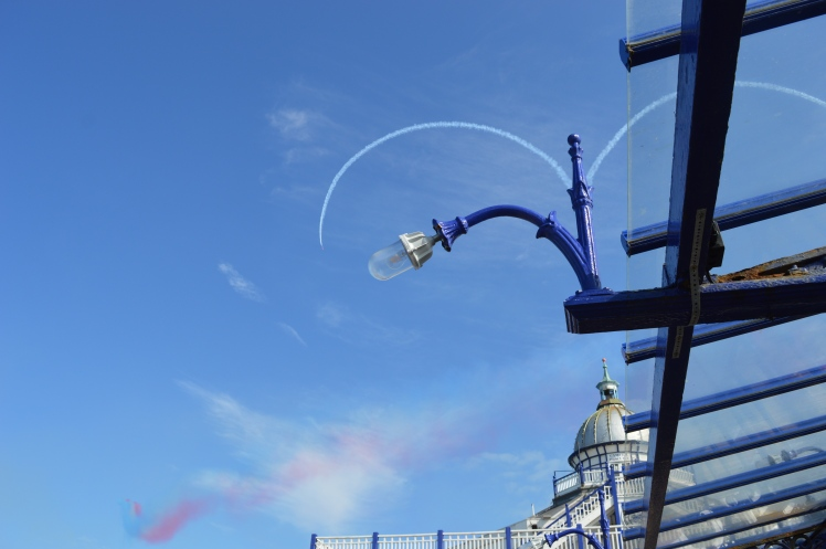 Red Arrows and Eastbourne Pier