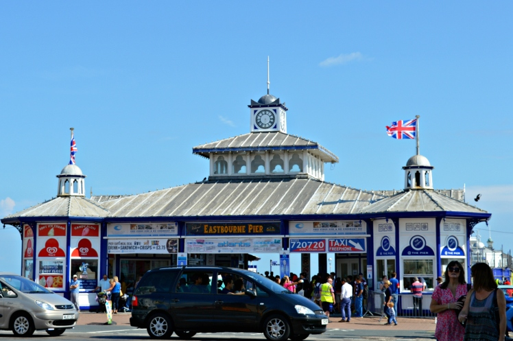 The entrance to the pier way before the takeover
