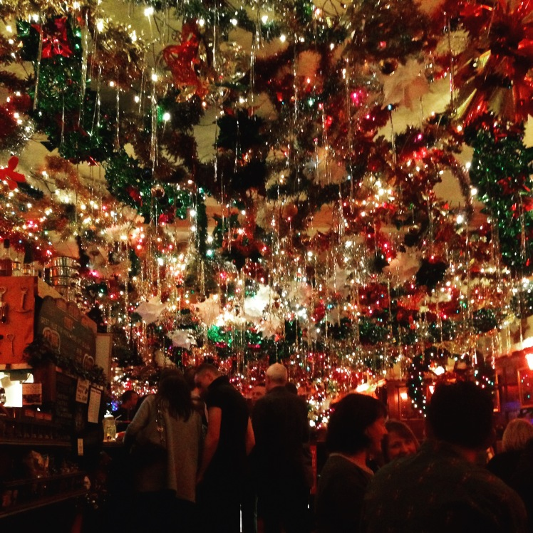 The Marine - the pub with the greatest Christmas decorations in Eastbourne