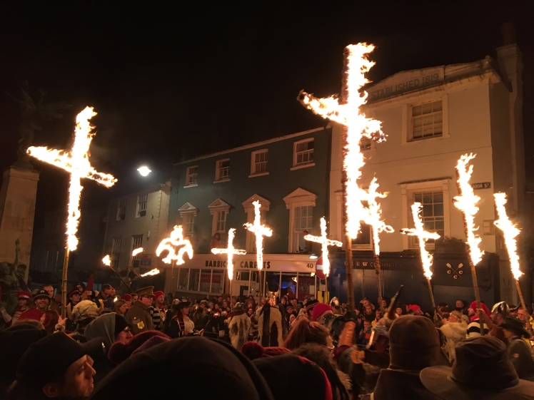 Bonfire night festivities of Lewes